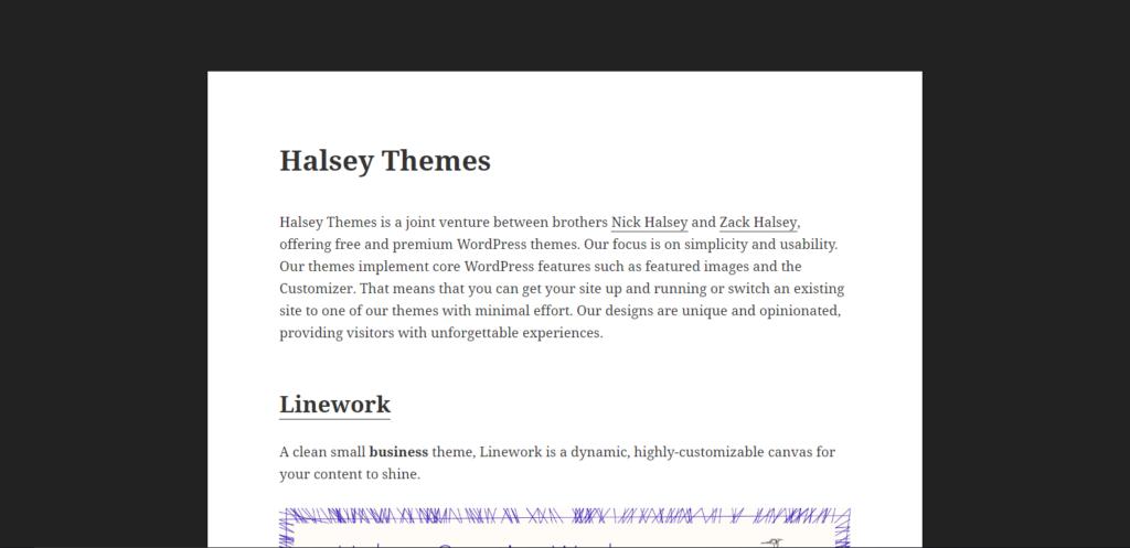 Halsey Themes